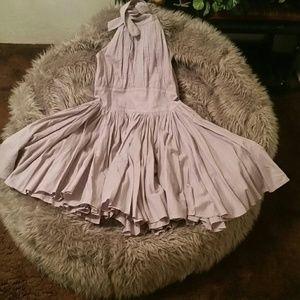 Victoria's Secret,Moda Int'l, halter dress, Sz 6